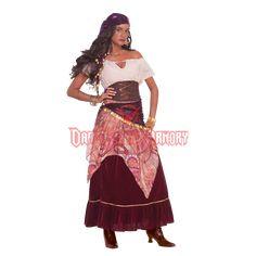 Gypsy Wanderer Women's Costume - FM-67974 from Dark Knight Armoury