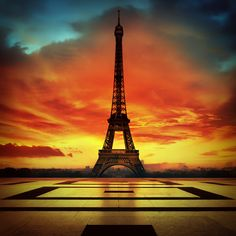 *Eiffel  Tower, Paris