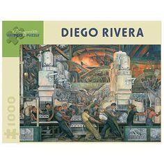 Pomegranate Communications, Inc. Diego Rivera Detroit Industry Puzzle: 1000 Pcs