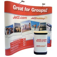 3x3 Pop Up Display Stands