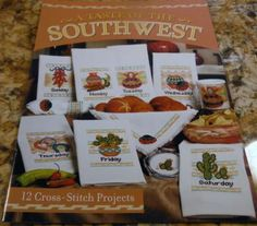 A Taste of the Southwest Cross Stitch Pattern Booklet 1261 by Bayview Publishing