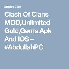 clash of clans mod apk 2019 ios