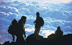 Ascending Mount Fuji by Jerry White