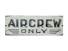 Image result for flight crew only sign
