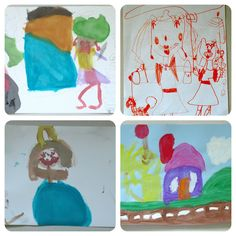 Keep kid's art organized and manageable: Digital art portfolio