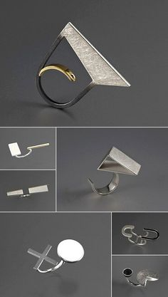 TheCarrotbox.com modern jewellery blog : obsessed with rings // feed your fingers!: Bande des Quatres / Lané Vorster
