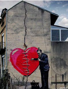 Street Art / Heartbreak...