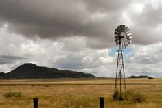 The Karoo, Ode to joy - Discovering this idyllic place, we find ourselves filled with a yearning to linger …Where time stands still and beauty overwhelms…the stillness touchable… That my fellow traveller is The Karoo. Old Windmills, Time Stood Still, Old Barns, Le Moulin, Great Memories, Wind Turbine, South Africa, Beautiful Pictures, Environment