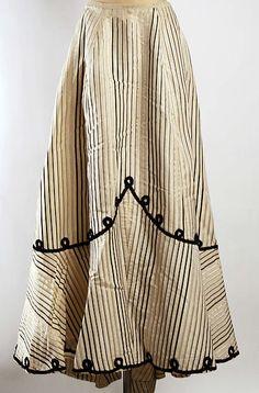 My Pompadour Isn't Listening.  Skirt Date: ca. 1908  Source