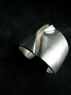 Silver bracelet designed by Björn Weckström |
