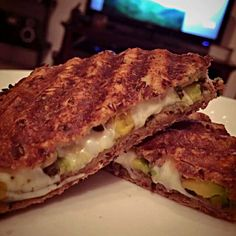 pesto avocado mozzarella grilled cheese