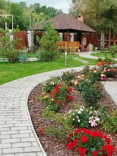 Планирование садового ландшафтного дизайна: фото, как составить план участка, метод триангуляции