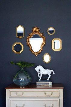 gold mirror gallery