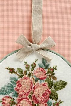 Embroidery Hoops and Frames | Vintage Floral Frames - Cross Stitcher