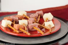 thor's hammer food   To make Thor's hammers, we cubed pepperoni, summer sausage, and ...