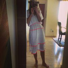 @whomarina looking comfy and cool in #lemlem gauze dress - lemlem.com