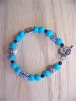 Turquoise and Silver   $20.00