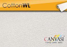 Cotton WL Canvas Paper, Company Logo, Cotton, Base Coat, Canvas