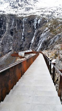 The Trollstigen Mountain Road, Norway