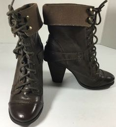 b6dd3e58692 Details about Madden Girl by Steve Madden Combat Women s Velvet Lace-Up Ankle  Boot Shoes