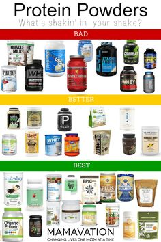 Best Protein Powders: Which Brands are Better For Your Family? - MAMAVATION You care for your the health and well being of your family so make sure you are choosing the best protein powders from the wide range available. Protein Muffins, Protein Snacks, Protein Dinner, Healthy Protein, Protein Desserts, Protein Diets, Energy Snacks, Healthy Sweets, Healthy Nutrition