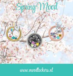 Moodlockers, jouw persoonlijke sieraad waarvan je de inhoud kunt wisselen. Open je locker, wissel je moodies, en laat zien waar jij voor staat! Spring Mood! www.moodlockers.nl