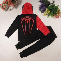 Tonlinker Spiderman Baby Boys Clothing Sets Suit For Boys Clothes Spring Spider Man Costume Cosplay Halloween carnival Birthday Halloween Carnival, Carnival Birthday, Spiderman Outfit, Spiderman Costume, Baby Boy Clothing Sets, Boys Suits, Outfit Sets, Baby Boy Outfits, Spring Outfits