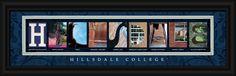 Hillsdale College Officially Licensed Framed Letter Art