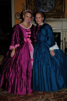Joy Melcher, Civil War Lady made this gown for me from an original photograph. With lovely, Lori.