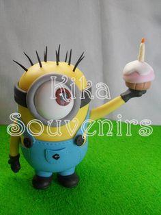 Adorno de torta (minions)