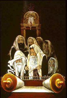 The Torah Readers: The message of the Torah never changes.  It is not a translation, but the living Word of God.