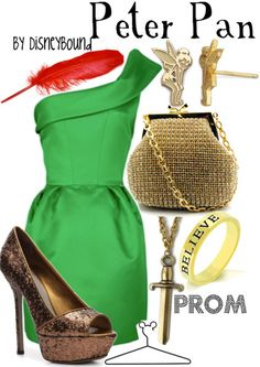Either New Year's Eve or Halloween I would rock this outfit!! It is so Peter Pan but it's uber chic and sassy!