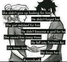 The best Percy Jackson sayings - Percabeth❤❤ - wattpad Percy Jackson Fan Art, Percy Jackson Memes, Percy Jackson Books, Percy Jackson Fandom, Percabeth, Solangelo, Percy And Annabeth, Annabeth Chase, Rick Y