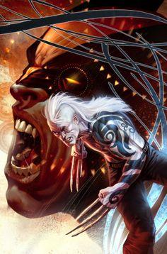 More Wolverine artwork by Marko Djurdjevic