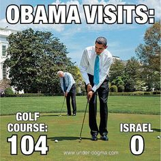Obama cannot enter The Holy Land. Why is that? Because he's Muslim.