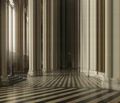 ralf brueck distorts architecture and nature into sci-fi scenarios Utopia Dystopia, Photo Sculpture, Plexiglass, Collage Drawing, Glitch Art, Love Photos, Sci Fi, Landscape, Abstract