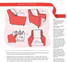 DIY Slip Cover... I'm trying to find patterened slip covers for a loveseat in my living room!! I may have to make it myself...