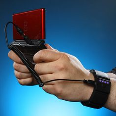 Wrist Charger... charge your batteries while using your device! #gadgets