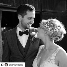 Came across this beautiful image this morning and it made my day! Beautiful Charlie wearing my hairvine design 'Monika'. Congratulations to you both and thank you again @charlievbond #Repost @charlievbond with @repostapp ・・・ Got round to sorting our official wedding photos this morning. I want to do it all again! ❤️ #hbwdesigns #hairbowswonderworld #hbwthehandmadeweddingboutique #ProGuideVendor #etsyweddingteam #handmadewedding #weddinghairvine #weddinghairaccessories
