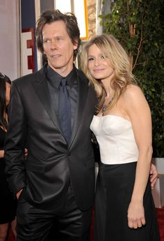 Kevin Bacon & Kyra Sedgwick - lovely couple with a long marriage!