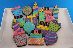 Birthday Cookies by Nadia Bakes, via Flickr