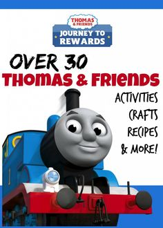 Here are over 30 Different Thomas the Train Engine Printables, Activity Sheets, Recipes and more! If you are planning a Thomas & Friends party for your little one there are a lot of great resources and ideas and I've rounded up my favorites for you!