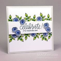 This week's Splitcoaststampers' Featured Stamper is Jari ! I chose this pretty card as my inspiration: I focused on Jari's -floral. Card Making Inspiration, Making Ideas, Happy Birthday Gorgeous, Karten Diy, Pretty Pink Posh, Pretty Cards, Card Maker, Watercolor Cards, Flower Cards