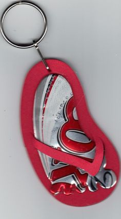 RECYCLED Soda Pop Can Flip Flop -ORNAMENT OR key Chain Recycled Can _ etsy
