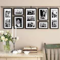 hanging photo wall - Home Decor , DIY & Crafts