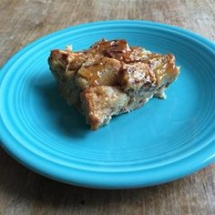 "Maple Caramel Bread Pudding | ""This cinnamon bread pudding is topped ..."