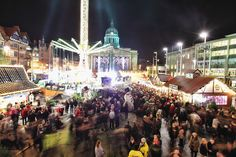 Must go to England at Christmastime Nottingham, England | 39 Christmas Markets Across Europe To Visit Before You Die