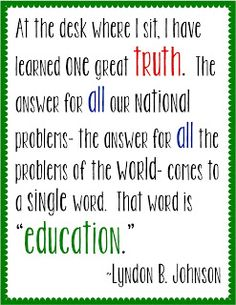 A reminder why we teach- poster freebie