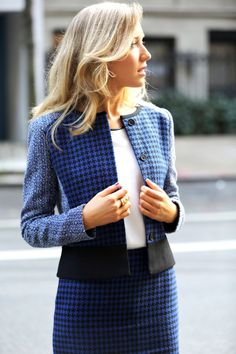 work wear street style fall fashion trends 2013 new york city nyc the classy cubicle fashion blog for young professional women females woman...