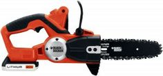 Wedding Registry idea: Black & Decker Lithium Ion Cordless Chain Saw (tools) Chainsaw Reviews, Battery Powered Chainsaw, Electric Chainsaw, Saw Tool, Big Party, Outdoor Power Equipment, Black, Tools, Wedding